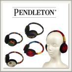 【PENDLETON(ペンドルトン)】ネイティブ柄のイヤーマフ(earmuff / 耳当て)[黒 / 青 / 赤][ウール][メンズ / レディース]