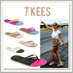 Trove Tkees(トローブティキーズ)人気のレザービーチサンダル[バイカラー][本革][ペタンコ][トング/フラット][レディス]