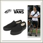 ショッピングVans VANS(バンズ)CLASSIC SLIP-ON(クラシックスリッポン) キャンバススニーカー![BLACK(ブラック/黒)][ラバーソール][靴/シューズ][メンズ/レディース]