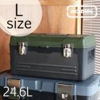 収納ボックス 工具入れ 工具箱 道具箱 アウトドア MOLDING モールディング トランクツールボックス L 24.6L