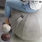 バランスボール 65cm カバー付き 椅子 イス 空気入れ付き おしゃれ グレー ブラウン ヴィヴォラ ビボラ Vivora シーティングボール ルーノ レザーレット