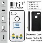 Google Pixel 3a XL IIIIfit ケース ミニオンズ