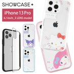 iPhone13 Pro ケース サンリオ SHOWCASE+ ケース クリア 写真やメモが挟めるケース アイフォン13 プロ sang-156
