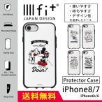 IIIIfit イーフィット スマホケース ディズニー iphone8 iphone7 ハード ケース アイフォン8 ケース アイホン7 ケース アイフォーン7 ケース キャラクター