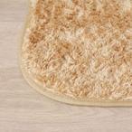 シャギーラグ - シャギーラグカーペット アイリスオーヤマ OPS-1319 クッキー