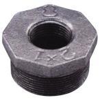 ブッシング 可鍛鋳鉄製管継手(白) 日立金属 BU (4B×3B)×51L