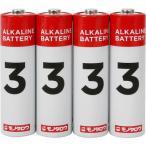 アルカリ乾電池 モノタロウ 単3 単3(40本入)