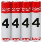 アルカリ乾電池 モノタロウ 単4 単4(4本入)
