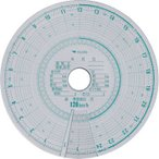 小型タコグラフ用チャート紙(黄箱) 矢崎総業 762969-200