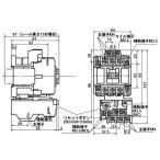標準形電磁開閉器(ケースカバーなし) 富士電機 SW-5-1 シAC200V 0.4K コAC200V 1a1b
