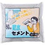 60分防水セメント 家庭化学 グレー 2kg