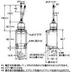 2回路リミットスイッチ WLNJ□ (フレキシブルロッド形) オムロン(omron) WL01NJ-30