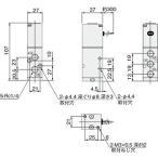 電磁弁200シリーズ コガネイ 200-4E1 AC100