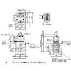 電磁弁(丸形)503シリーズ コガネイ 503-4E2 AC200