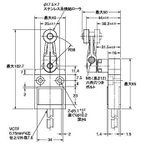 小型リミットスイッチ D4C-□ オムロン(omron) D4C-1420