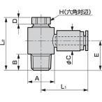 ニュージョイントGW(継手)/(ターンエルボ) ばら売り CKD GWL8-6-T