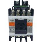 標準形電磁接触器(ケースカバーなし) 富士電機 SC-0 コイルAC100V 1a