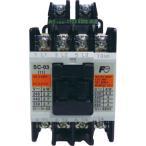 標準形電磁接触器(ケースカバーなし) 富士電機 SC-03 コイルAC100V 1a