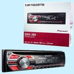 CD/チューナーメインユニット(WMA/MP3/WAV対応) Pioneer(パイオニア) DEH-380