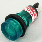 表示灯 ネオンブラケット サトーパーツ BN-2-2-G AC200-250V・緑