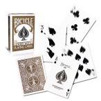 トランプ バイスクル Poker deck Brown back