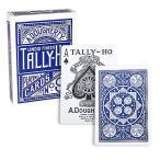 タリホー サークルバック TALLY-HO CIRCLEBACK 全2色 青赤 U.S.プレイングカード ポーカーサイズ
