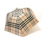バーバリー BURBERRY 傘 折りたたみ チェック柄 雨傘 アンブレラ 正規品 新品 送料無料 BB492