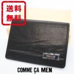 コムサメン COMME CA MEN 定期入れ パスケース ID  牛革 レザー 箱付き 正規品 新品 送料無料 com051