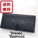 ヴィヴィアンウエストウッド Vivienne Westwood 長財布 オーブワイヤー 牛革 レザー 箱付き 正規品 新品 送料無料 VW128