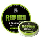 Rapala(ラパラ) ライン ラピノヴァX マルチゲーム 1.2号 22.2lb 150m ライムグリーン  RLX150M