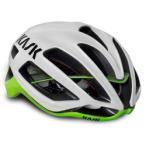 カスク(KASK) PROTONE ロードヘルメット ホワイト/ライム L