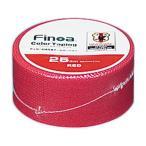 Finoa(フィノア) カラーテーピング サッカー日本代表チームバージョン レッド (2.5cm×7.7m×1P) 1603