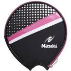 ニッタク(Nittaku) 卓球 ラケット ケース ポルカラウンド ピンク NK-7210 ピンク(21) _