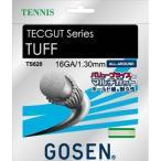 ゴーセン(GOSEN) テックガット タフ16 (テニス用) ホワイト TS620W