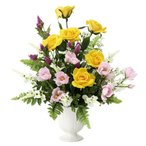 Yahoo!光の楽園ショップ モントブレッテアートフラワー(光触媒造花) 光の楽園 プリムローズ、新商品