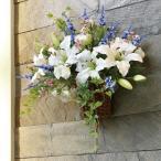 Yahoo!光の楽園ショップ モントブレッテアートフラワー(光触媒造花、壁掛けタイプ) 壁掛けカサブランカ、新商品