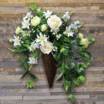 光の楽園 光触媒造花(壁掛けタイプ) スイートグリーン
