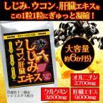 しじみ・ウコン・肝臓エキス 360粒 約6か月分 送料無料(クロネコDM便・ポスト投函・日時指定不可)
