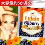 ルテイン & 100倍濃縮ビルベリー (栄養機能食品:ビタミンA) 360粒 約6か月分 送料無料(クロネコDM便・ポスト投函・日時指定不可)