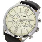 フォッシル FOSSIL クロノ クオーツ メンズ 腕時計 BQ1129 アイボリー 1年保証
