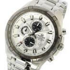 カシオ CASIO エディフィス EDIFICE クロノ クオーツ メンズ 腕時計 EF-539D-7AV シルバー 1年保証