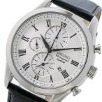 ★レビューでクロスプレゼント★ セイコー SEIKO クロノ クオーツ メンズ 腕時計 SNAF69P1 ホワイト