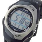 ★レビューでクロスプレゼント★ カシオ CASIO フィズ PHYS ランナー クオーツ ユニセックス 腕時計 STR-300C-1V ブラック