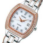 セイコー エクセリーヌ レディース 腕時計 SWCW088 ホワイト 国内正規 正規1年保証
