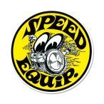 ムーンアイズ Speed Equip ラウンド ステッカー