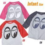 MOON Equipped インファント ベースボールTシャツ