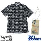 Reyn Spooner / MOON Equipped ショートスリーブ ボタンダウン プルオーバー シャツ (30th Anniversary)