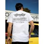 MOON Checker Flag Tシャツ