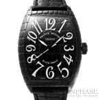 【中古】フランクミュラー トノウ カーベックス ブラッククロコ Ref.7880SC BLK CRO SS(ステンレススチール) 自動巻き-腕時計