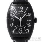 【中古】フランクミュラー トノウ カーベックス ブラッククロコ Ref.8880SC BLK CRO SS(ステンレススチール) 自動巻き-腕時計